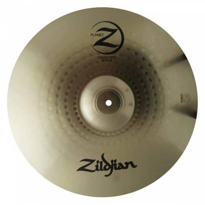 "Zildjian PLZ1418 Planet Z 14"" Hi-Hat Pair, 18"" Crash-Ride Cymbal Pack Product Image 4"
