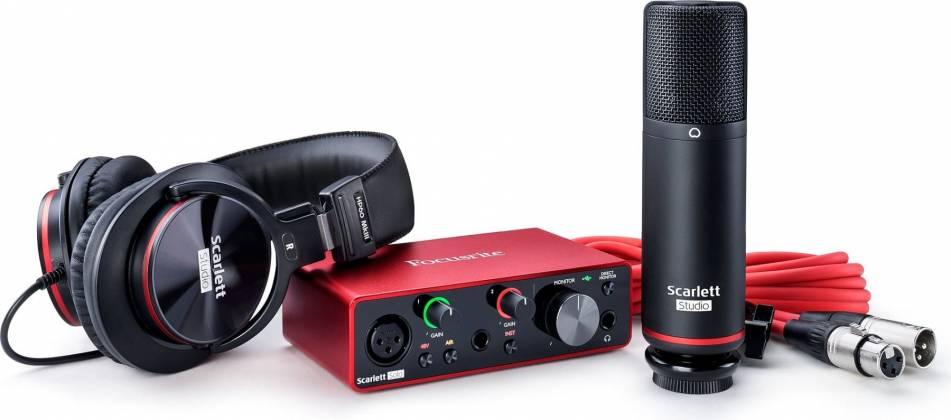 Focusrite ScarlettSolo-Studio 3 rd Gen Recording Bundle with Scarlet Solo and Accessories Product Image 10