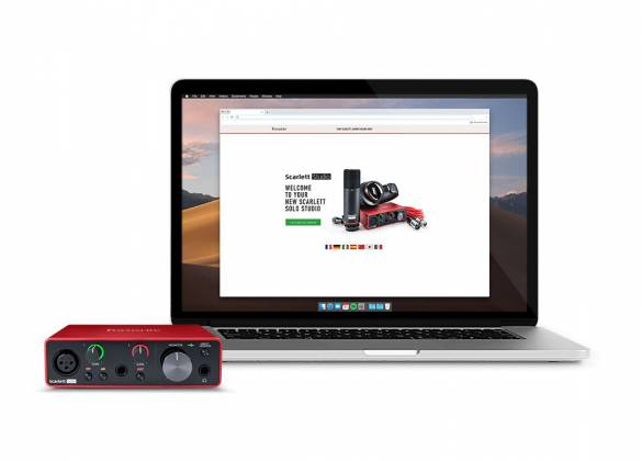 Focusrite ScarlettSolo-Studio 3 rd Gen Recording Bundle with Scarlet Solo and Accessories Product Image 8