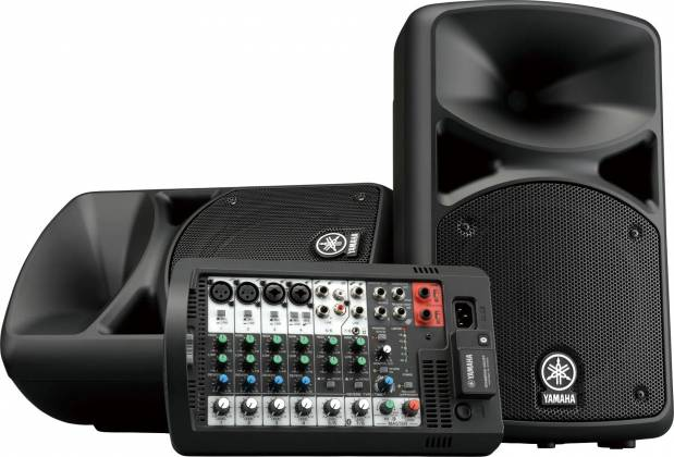 Yamaha STAGEPAS400-BT Portable PA System with Bluetooth Product Image
