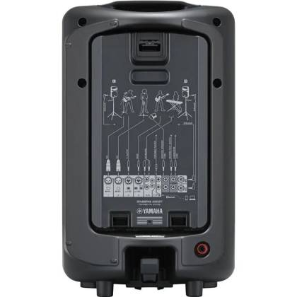 Yamaha STAGEPAS400-BT Portable PA System with Bluetooth Product Image 2