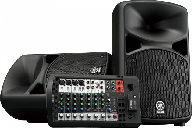 Yamaha STAGEPAS600-BT  Portable PA System with Bluetooth Product Image