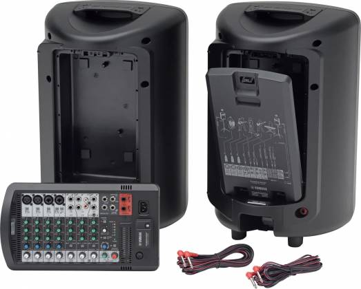 Yamaha STAGEPAS600-BT  Portable PA System with Bluetooth Product Image 2
