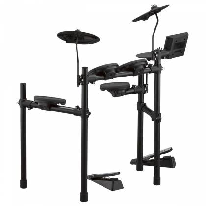 Yamaha DTX402K Electronic Drum Kit with 4 Drum Pads, 3 Cymbal Pads, Drum Module, Rack Stand, and Pedals Product Image 15
