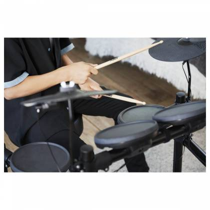 Yamaha DTX402K Electronic Drum Kit with 4 Drum Pads, 3 Cymbal Pads, Drum Module, Rack Stand, and Pedals Product Image 12