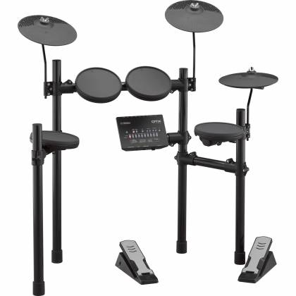 Yamaha DTX402K Electronic Drum Kit with 4 Drum Pads, 3 Cymbal Pads, Drum Module, Rack Stand, and Pedals Product Image