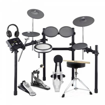 Yamaha DTX522K 5 Piece Electronic Drum Kit with 8 Pads and Rack Product Image 14