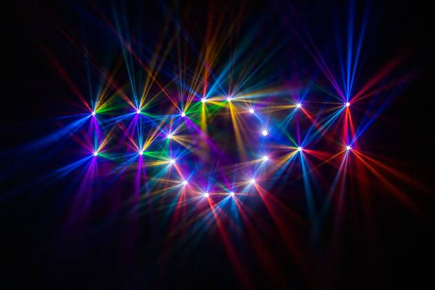 Blizzard NTrance 90W LED Beam Moving Head w/ RGB Effects Ring Product Image 8
