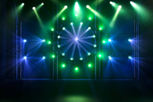 Blizzard NTrance 90W LED Beam Moving Head w/ RGB Effects Ring Product Image 7