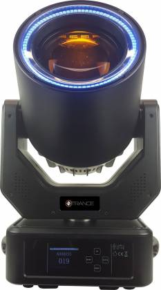 Blizzard NTrance 90W LED Beam Moving Head w/ RGB Effects Ring Product Image 2