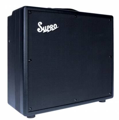 """Supro 1697R Galaxy 2-channel 50W 1x12"""" Tube Guitar Amplifier Combo 1697-r Product Image 2"""