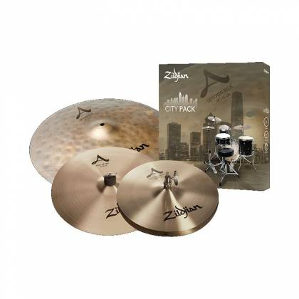 Zildjian ACITYP248 A Series City Pack 4-Piece Cymbal Box Set Product Image