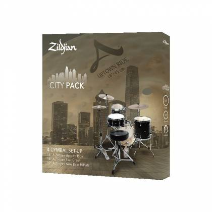 Zildjian ACITYP248 A Series City Pack 4-Piece Cymbal Box Set Product Image 3