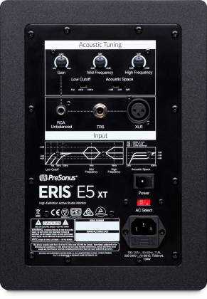 Presonus Eris5-XT 2-Way Active Studio Monitors with Wave Guide Product Image 2