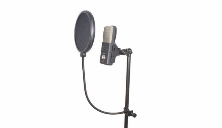 "CAD Audio VP1 VoxPop 6"" Pop Filter on 14"" Gooseneck Product Image 2"