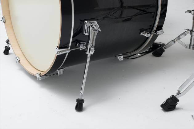 Tama CL52KSTPB Superstar Classic 5-piece Lacquer Finish Maple Shell Pack-Transparent Black Burst cl-52-ks-tpb Product Image 4