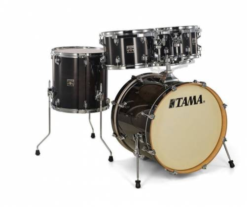 Tama CL50RSTPB Superstar Classic 5-Piece Drum Set Shell Pack-Transparent Black Burst Finish cl-50-rs-tpb Product Image