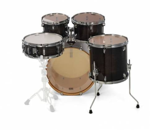 Tama CL50RSTPB Superstar Classic 5-Piece Drum Set Shell Pack-Transparent Black Burst Finish cl-50-rs-tpb Product Image 3