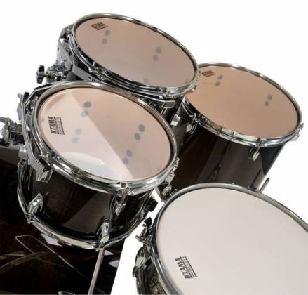 Tama CL50RSTPB Superstar Classic 5-Piece Drum Set Shell Pack-Transparent Black Burst Finish cl-50-rs-tpb Product Image 14