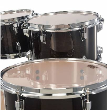 Tama CL50RSTPB Superstar Classic 5-Piece Drum Set Shell Pack-Transparent Black Burst Finish cl-50-rs-tpb Product Image 13