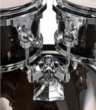 Tama CL50RSTPB Superstar Classic 5-Piece Drum Set Shell Pack-Transparent Black Burst Finish cl-50-rs-tpb Product Image 12