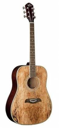 Oscar Schmidt OG1SM-A 3/4 Size Dreadnought 6-string RH Acoustic Guitar-Spalted Maple og-1-sm-a Product Image 2