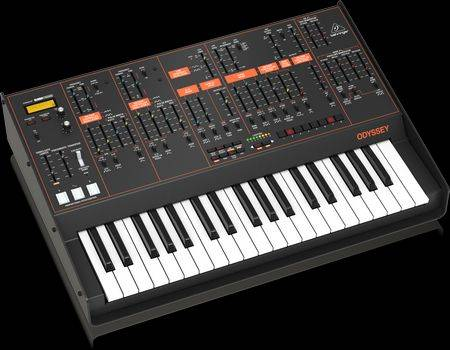 Behringer Odyssey Full-Sized Analog Synthesizer with Sequencer and FX
