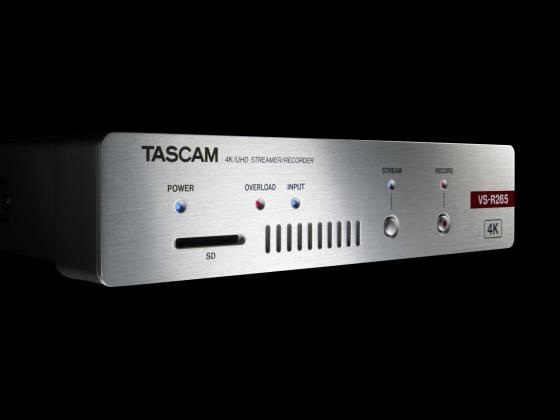 Tascam VS-R265 4K/UHD Streamer/Recorder vs-r-265 Product Image 3