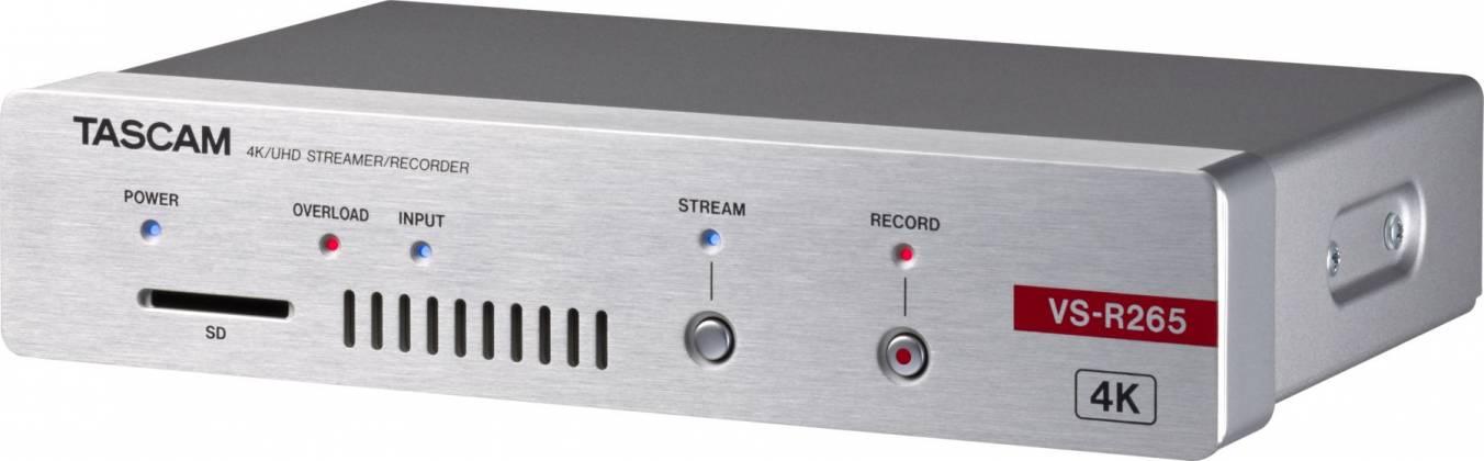 Tascam VS-R265 4K/UHD Streamer/Recorder vs-r-265 Product Image 2