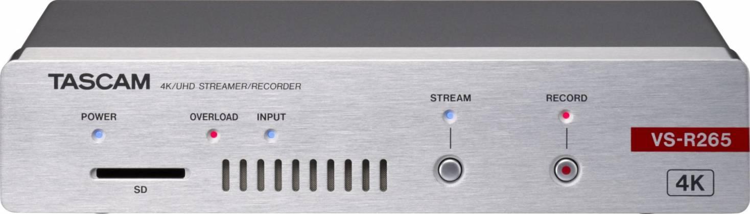 Tascam VS-R265 4K/UHD Streamer/Recorder vs-r-265 Product Image