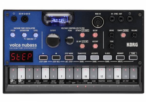 Korg DJ VolcaNuBass Bass Synth Vacuum NuTube Synthesizer Product Image 3