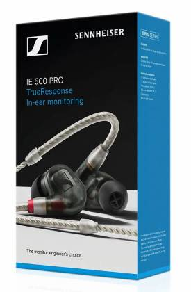 Sennheiser IE 500 PRO Smoky Black Dynamic Monitoring Earbud with SYS 7 Dynamic Transducer - Smoky Black 507479 Product Image 3