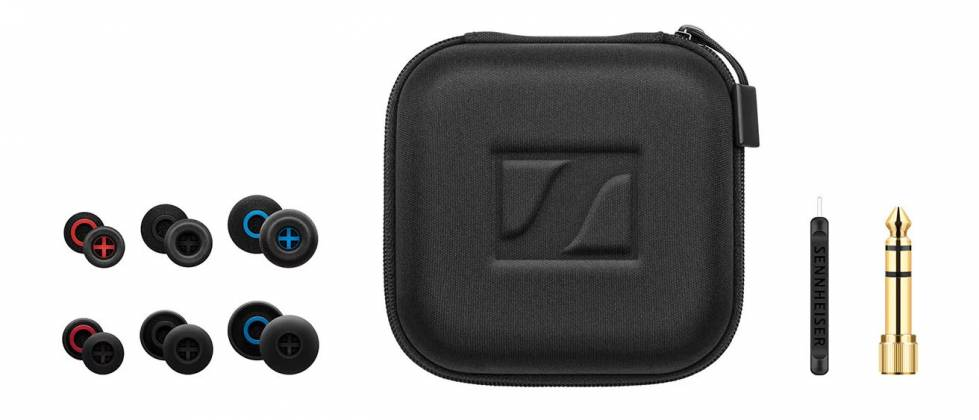Sennheiser IE 500 PRO Smoky Black Dynamic Monitoring Earbud with SYS 7 Dynamic Transducer - Smoky Black 507479 Product Image 2