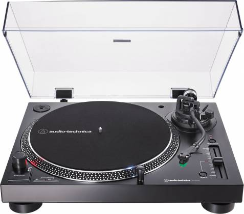 Audio Technica AT-LP120XUSB-BK Direct-Drive Turntable (Analog & USB)-Black at-lp-120-x-usb-bk Product Image 2