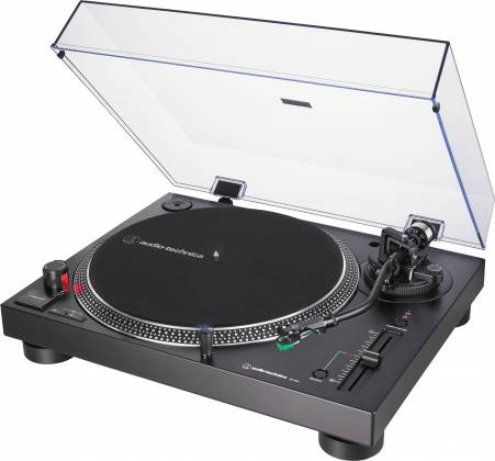 Audio Technica AT-LP120XUSB-BK Direct-Drive Turntable (Analog & USB)-Black at-lp-120-x-usb-bk Product Image
