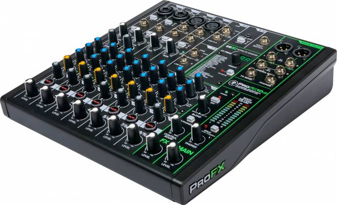 Mackie ProFX-10 v 3 ProFXv3 Series 10-Channel Professional Effects Mixer with USB and Pro Tools First Software Product Image 12