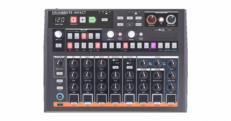 Arturia DRUMBRUTEIMPACT Analog Drum Machine drum-brute-impact Product Image