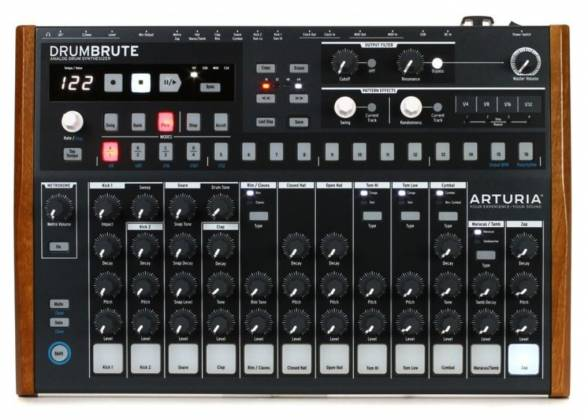Arturia DRUMBRUTE Analog Drum Synthesizer and Sequencer Machine drum-brute Product Image