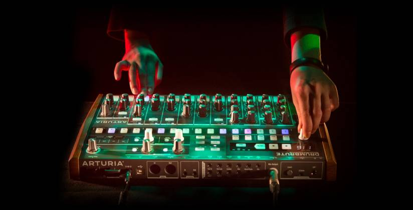 Arturia DRUMBRUTE Analog Drum Synthesizer and Sequencer Machine drum-brute Product Image 4