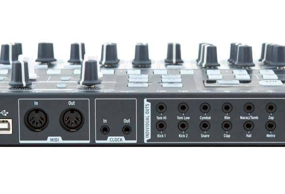 Arturia DRUMBRUTE Analog Drum Synthesizer and Sequencer Machine drum-brute Product Image 3