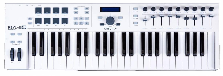 Arturia KEYLABESSENTIAL49 Easy to Use 49 Key Keyboard Controller key-lab-essential-49 Product Image