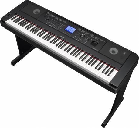 Yamaha DGX660-B 88-Key Electric Piano with Stand - Black Product Image 7