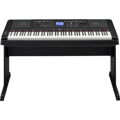 Yamaha DGX660-B 88-Key Electric Piano with Stand - Black Product Image 6