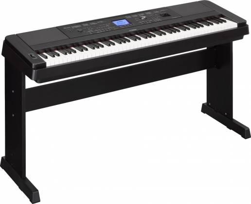 Yamaha DGX660-B 88-Key Electric Piano with Stand - Black Product Image 5