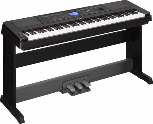 Yamaha DGX660-B 88-Key Electric Piano with Stand - Black Product Image