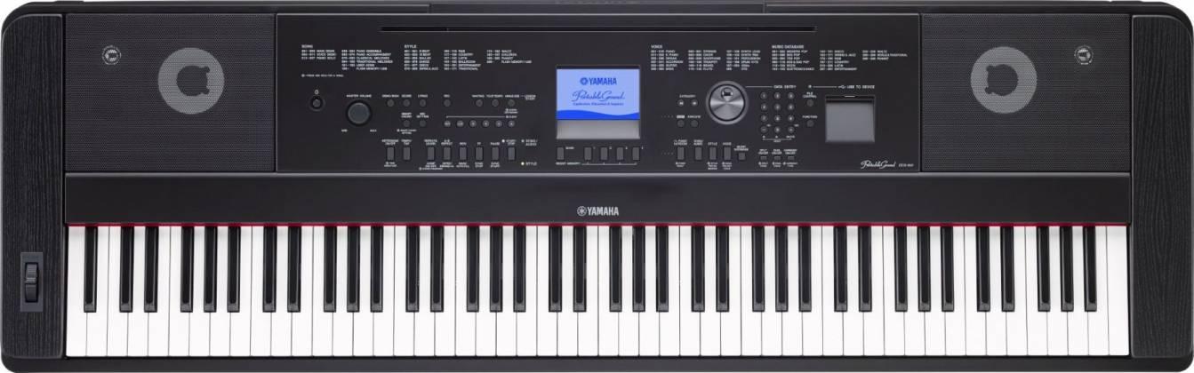 Yamaha DGX660-B 88-Key Electric Piano with Stand - Black Product Image 4