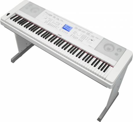 Yamaha DGX660-WH 88-Key Electric Piano with Stand - White Product Image