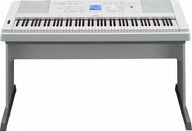 Yamaha DGX660-WH 88-Key Electric Piano with Stand - White Product Image 6