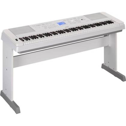 Yamaha DGX660-WH 88-Key Electric Piano with Stand - White Product Image 5