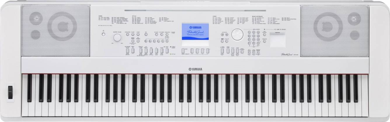 Yamaha DGX660-WH 88-Key Electric Piano with Stand - White Product Image 3